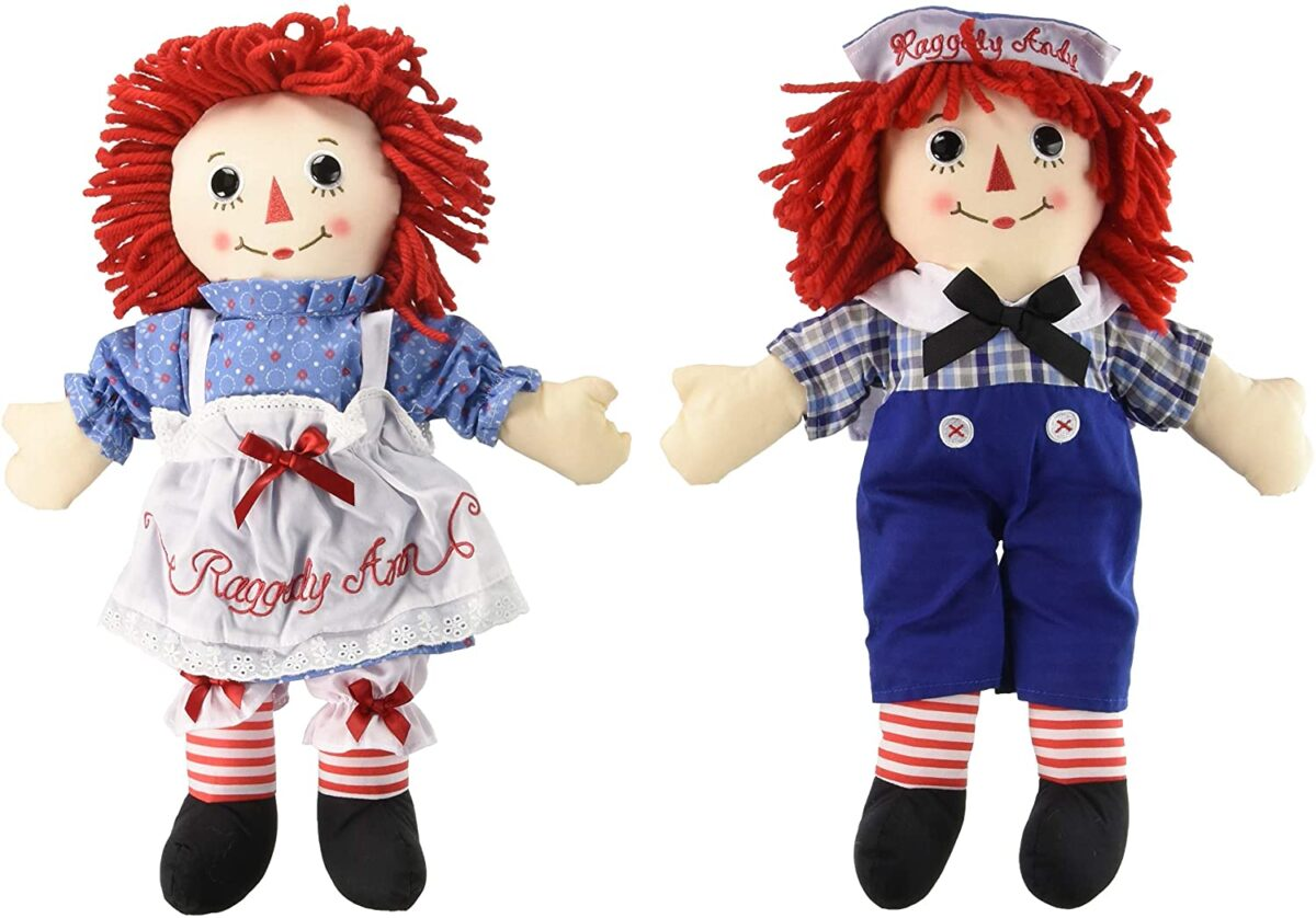 raggedy ann and andy vintage retro toys