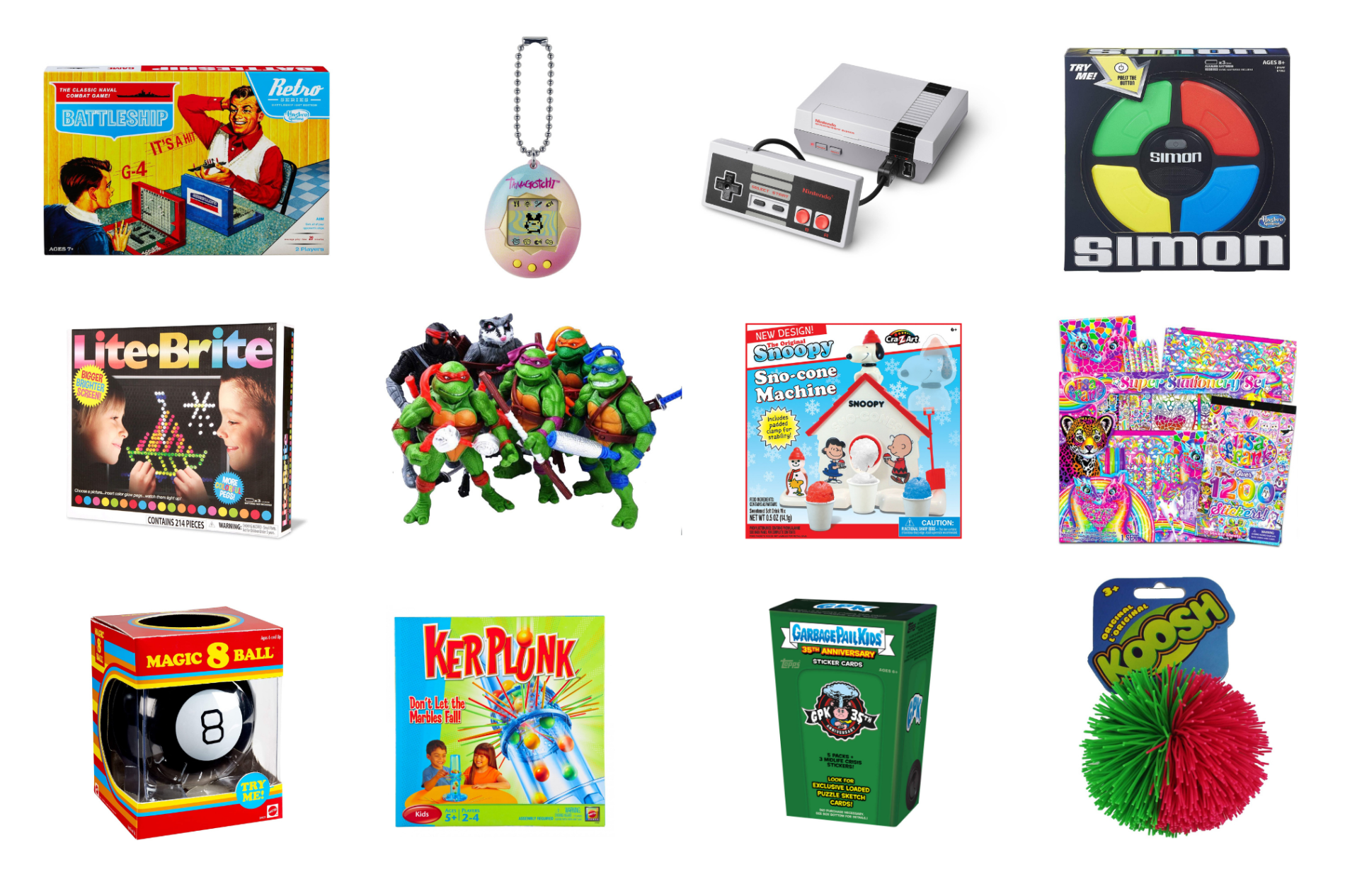 retro toy gift options for the holidays