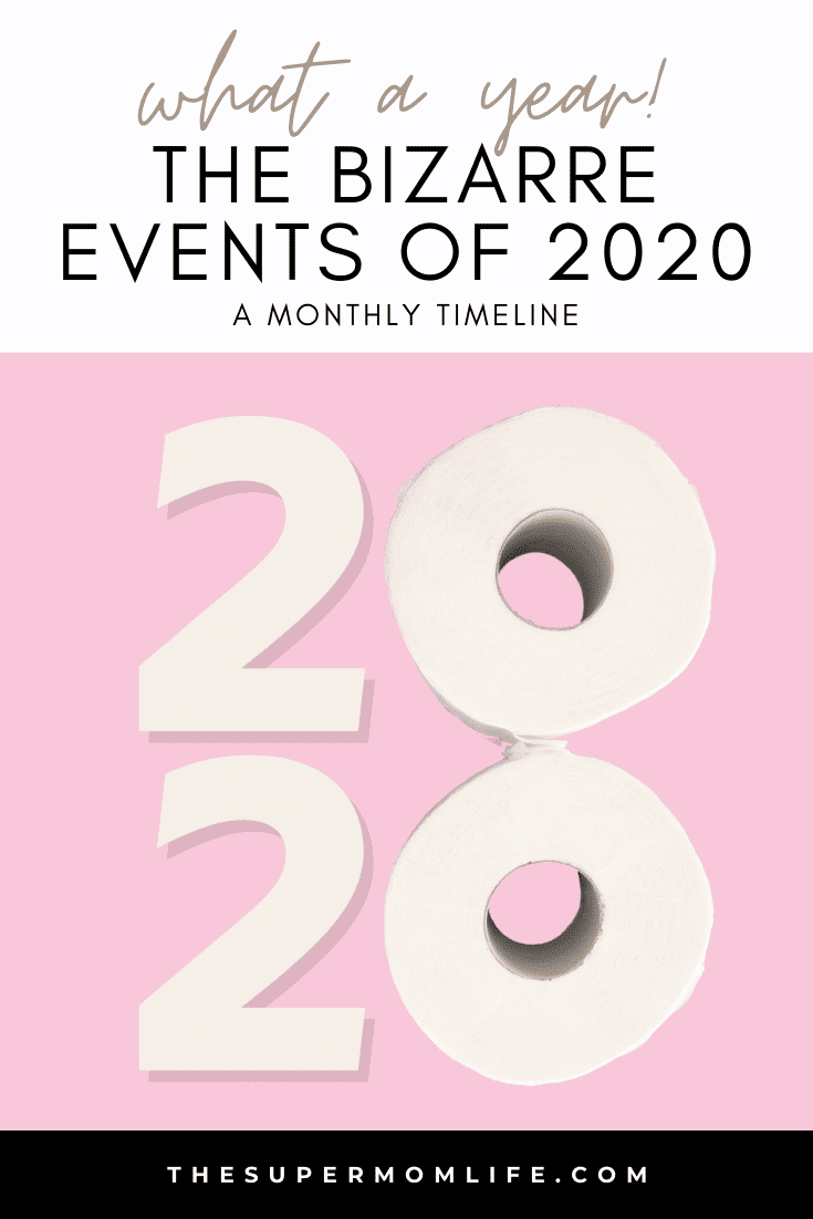 2020 was quite possibly the most bizarre year we've ever had. I compiled a list of the most memorable, strange and remarkable things that happened.