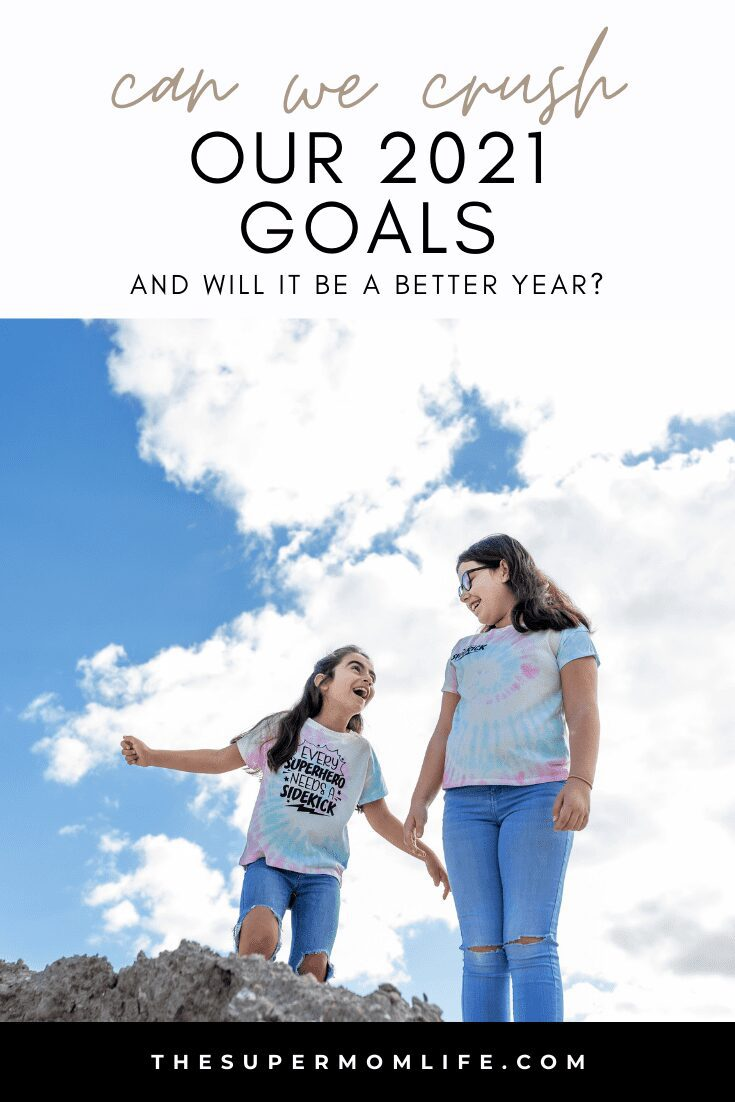 Our family makes 10 goals each, every year. We are excited to share our goals for 2021!