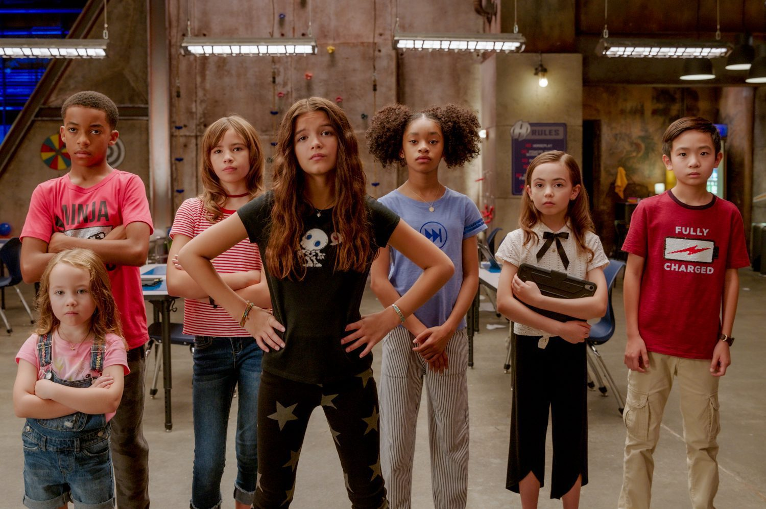 kids in the cast of We Can Be Heroes