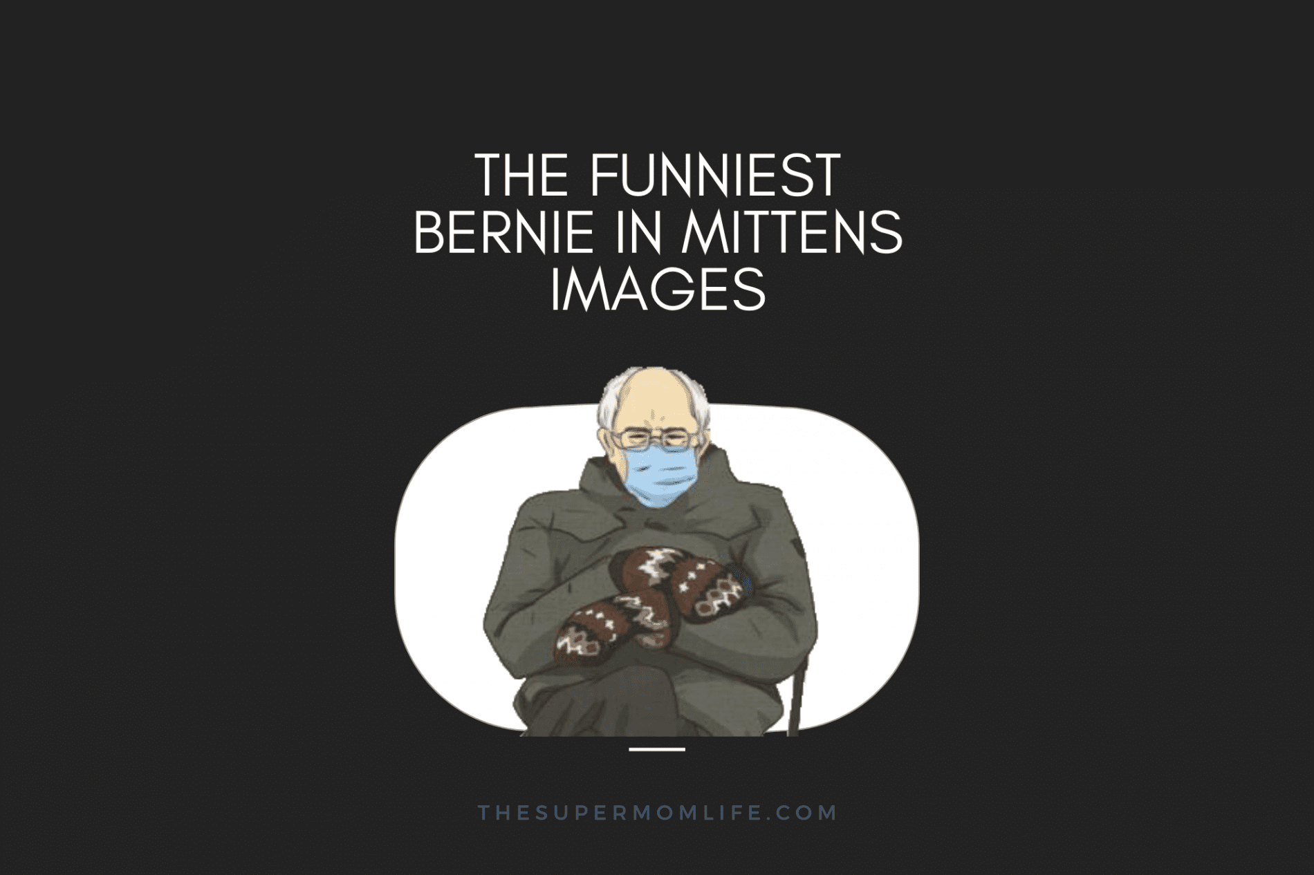 the best bernie in mittens images