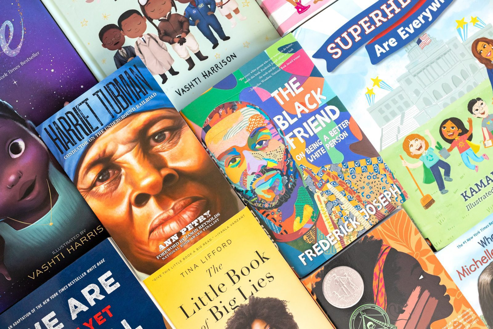 books celebrating black history month
