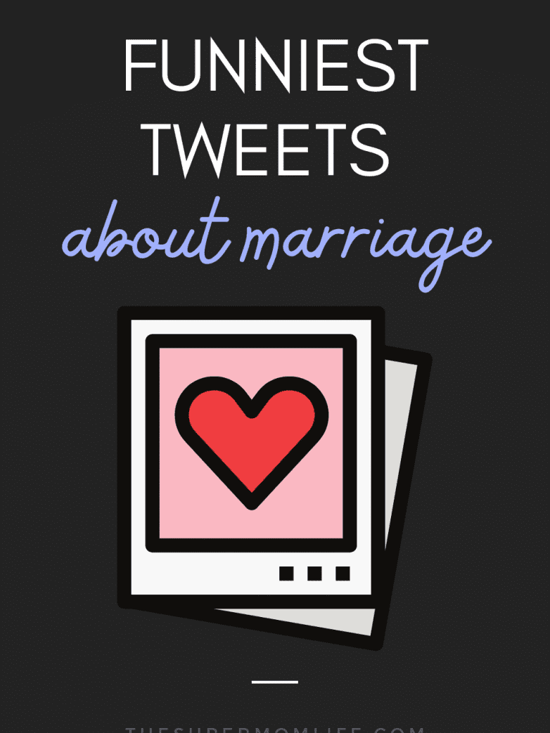 Whether you were recently married or you've been married for many years, we can all use a relatable laugh. These are the funniest tweets about marriage.
