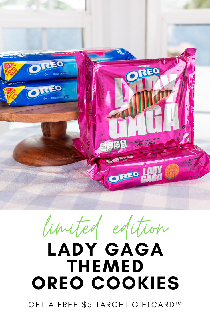 #AD Limited Edition Lady Gaga's Chromatica OREO Cookies are available at Target in-store or online. Create an OREO-gram to send to someone you love and get a $5 @Target GiftCard™. #SingItWithOREOAtTarget @OREO