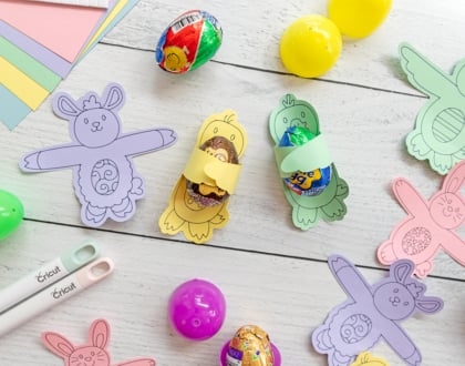 Easter Candy Hugs with Cricut
