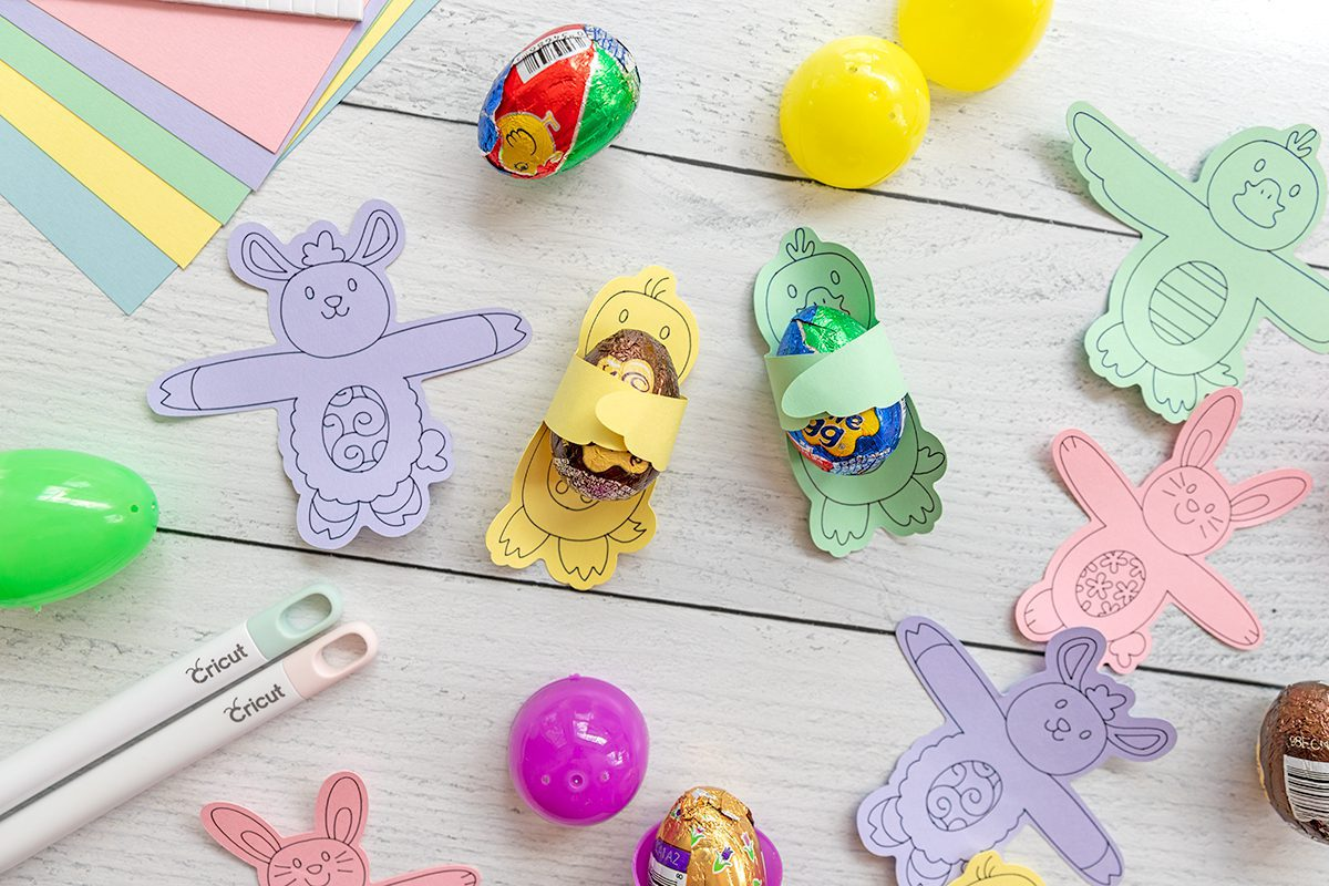 everything you need to make an easter candy hug