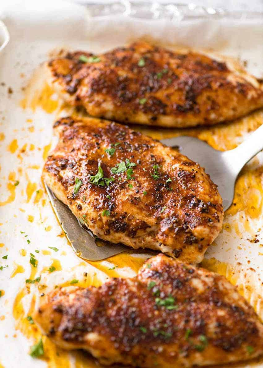 Oven Baked Chicken Breast from Recipe Tin Eats