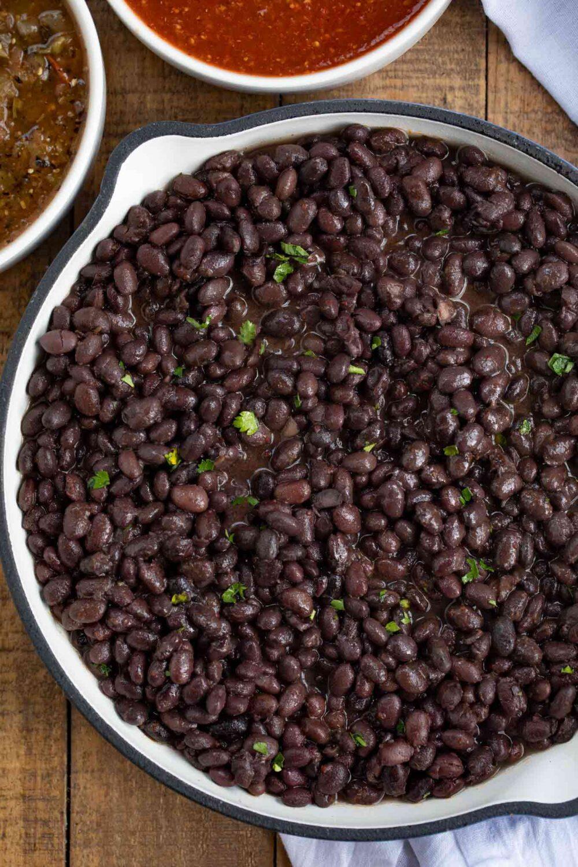 Chipotle Black Beans (Copycat) by Dinner Then Dessert