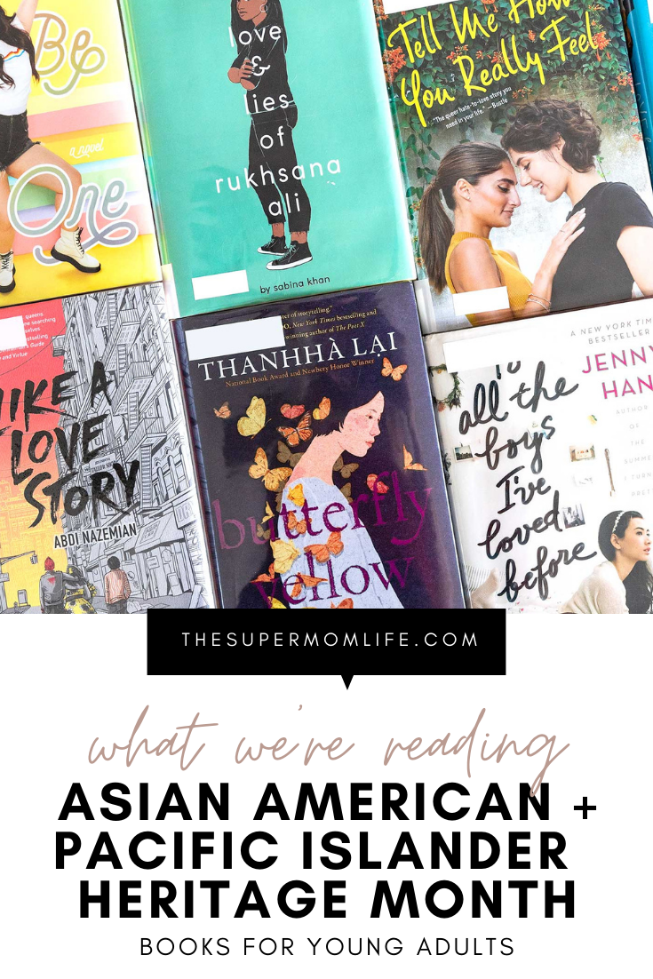 It's Asian American and Pacific Islander Heritage Month and we are sharing what books our young adults are reading!