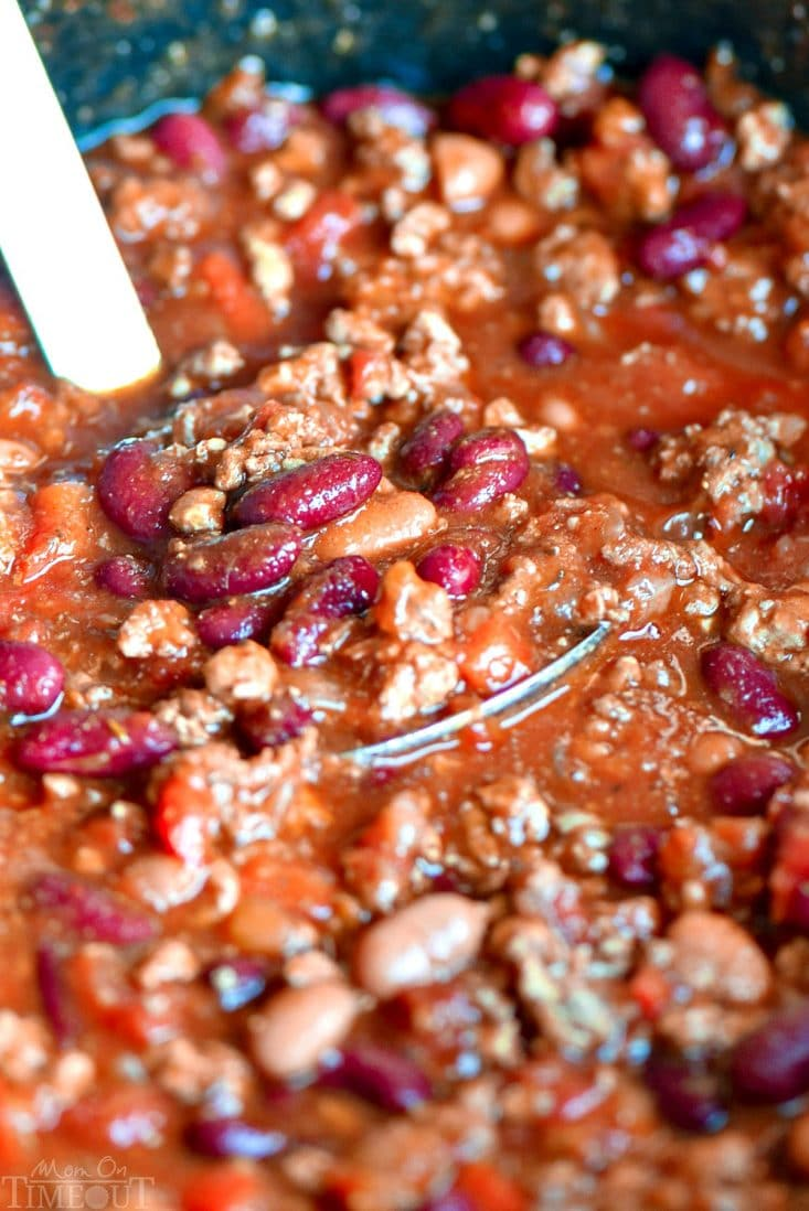 The Ultimate Crockpot Chili Recipe by Mom on Timeout