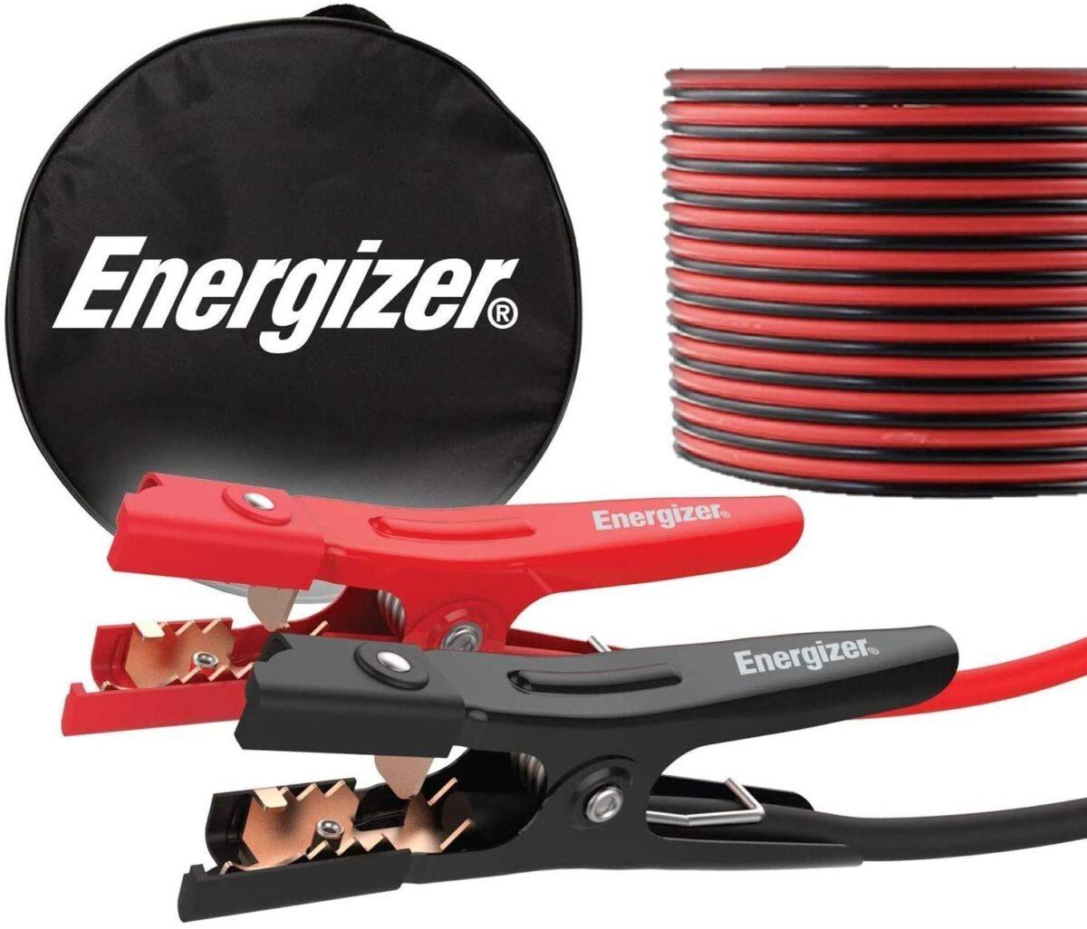 Energizer jumper cables road trip necessities
