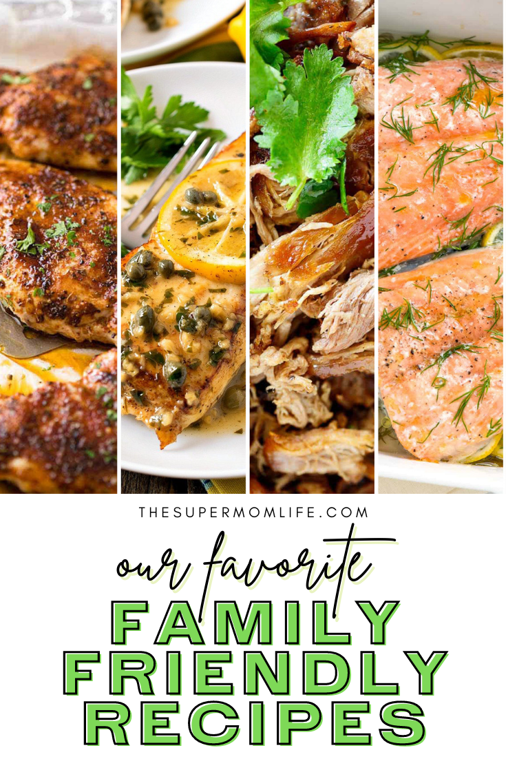 Looking for some family-friendly dinner recipes? We've tested out a bunch and are sharing our favorites from across the internet.