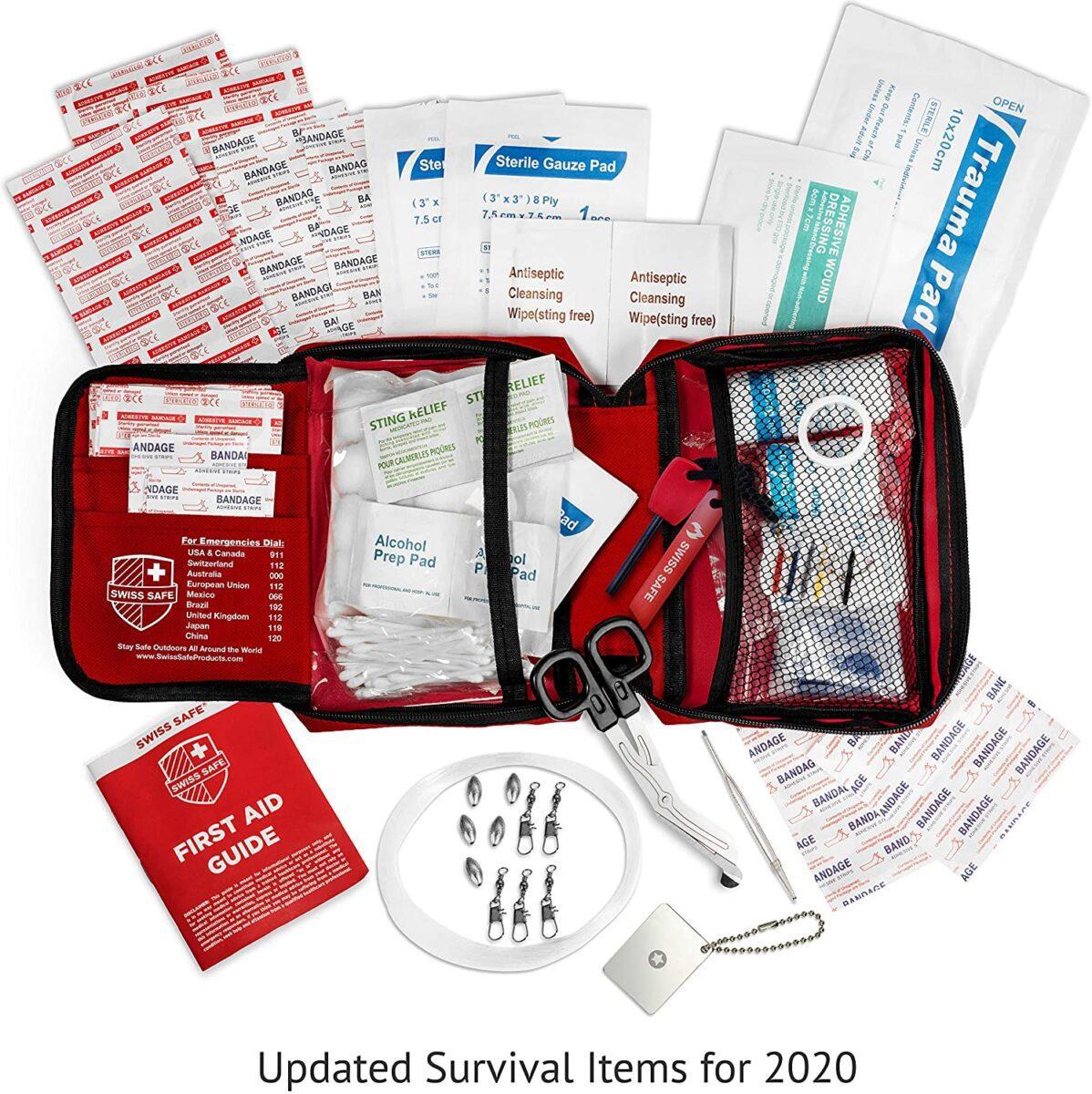 professional first aid kit road trip necessities