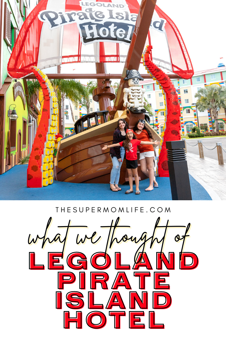 We are sharing our thoughts after our recent trip to LEGOLAND© Pirate Island Hotel in Florida.