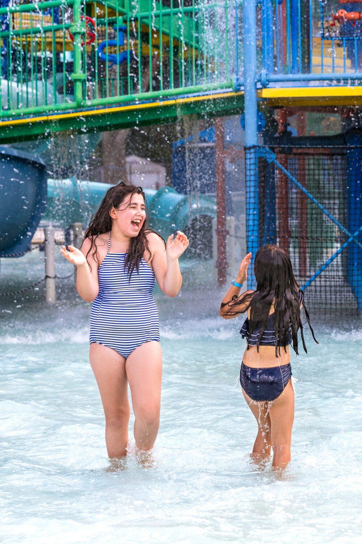 two girls having fun at LEGOLAND Water Park