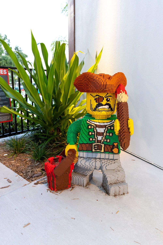 pirate at LEGOLAND Pirate Island Hotel