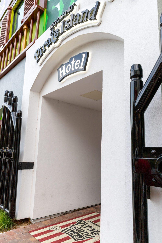 Entrance to LEGOLAND Pirate Island Hotel