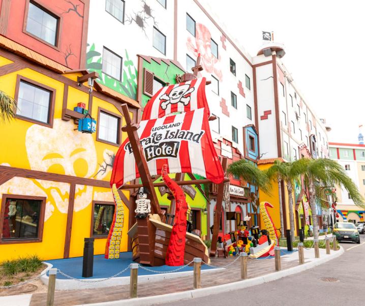 LEGOLAND® Pirate Island Hotel