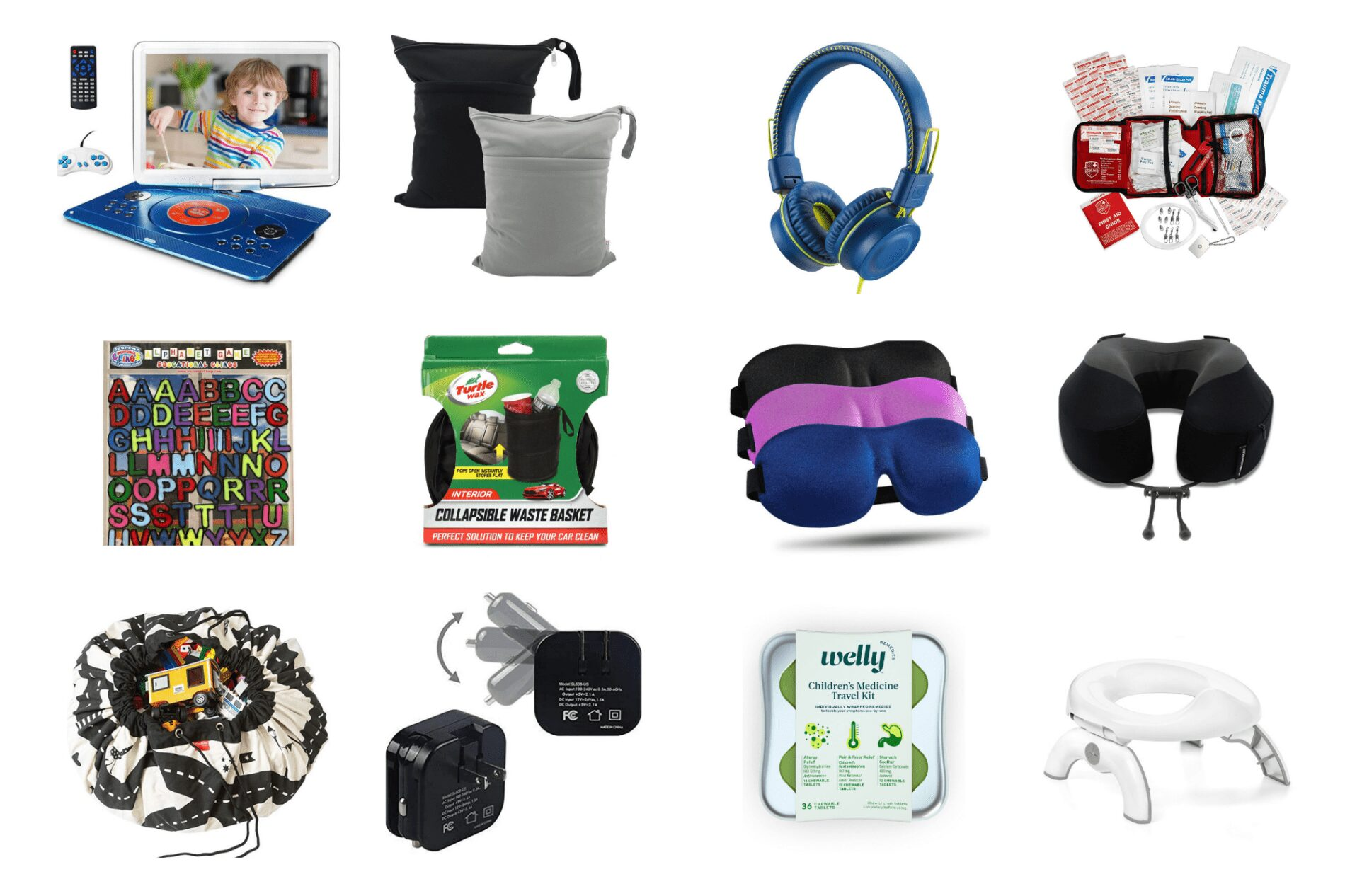 road trip necessities for families