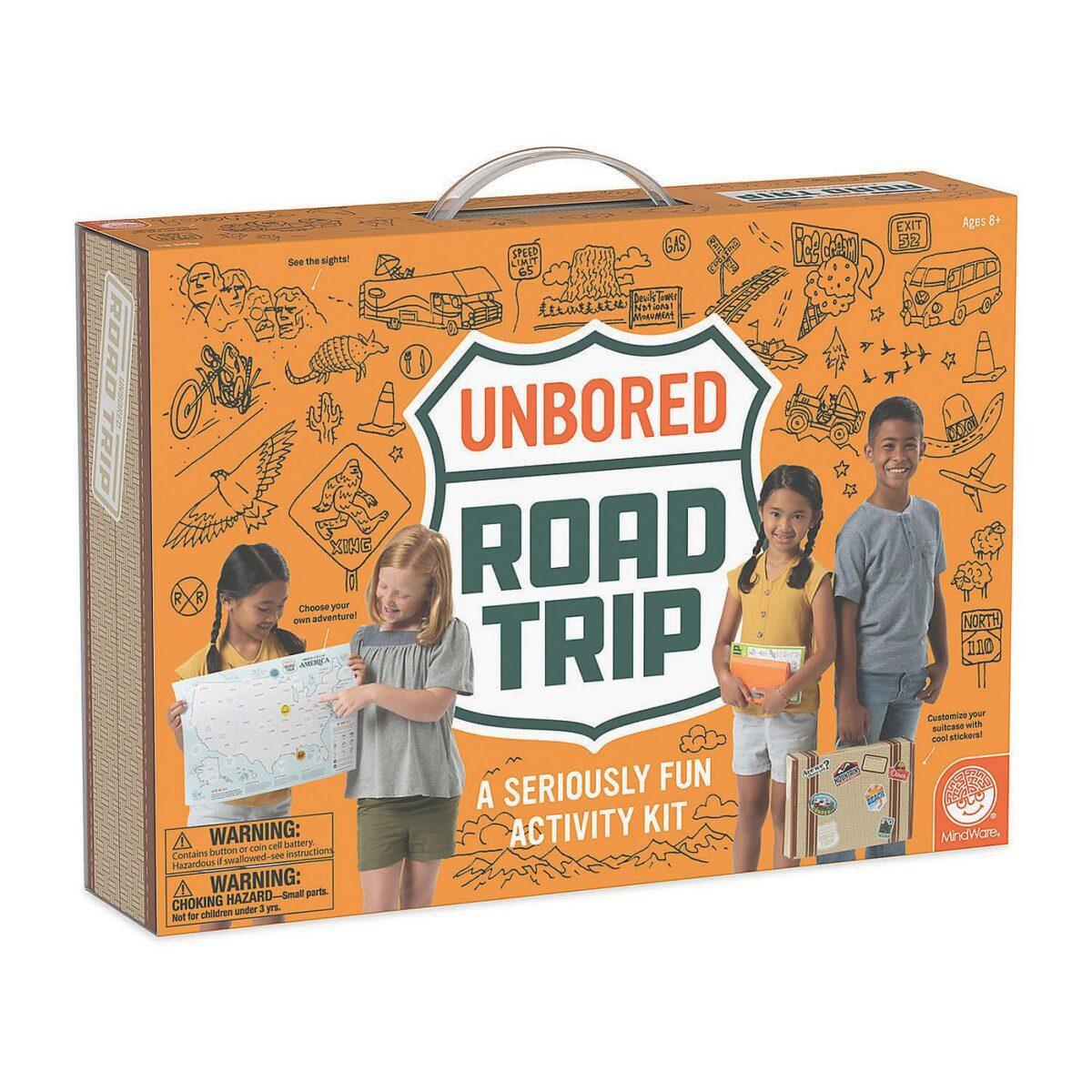 unbored road trip necessities activities