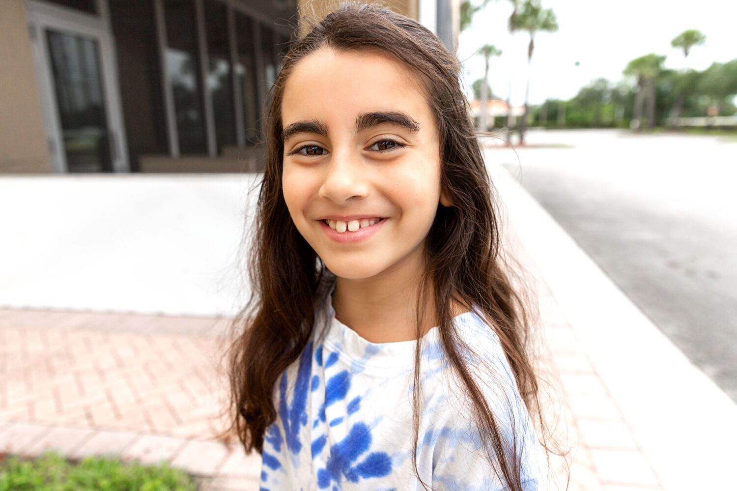 smiling girl our journey with ADHD