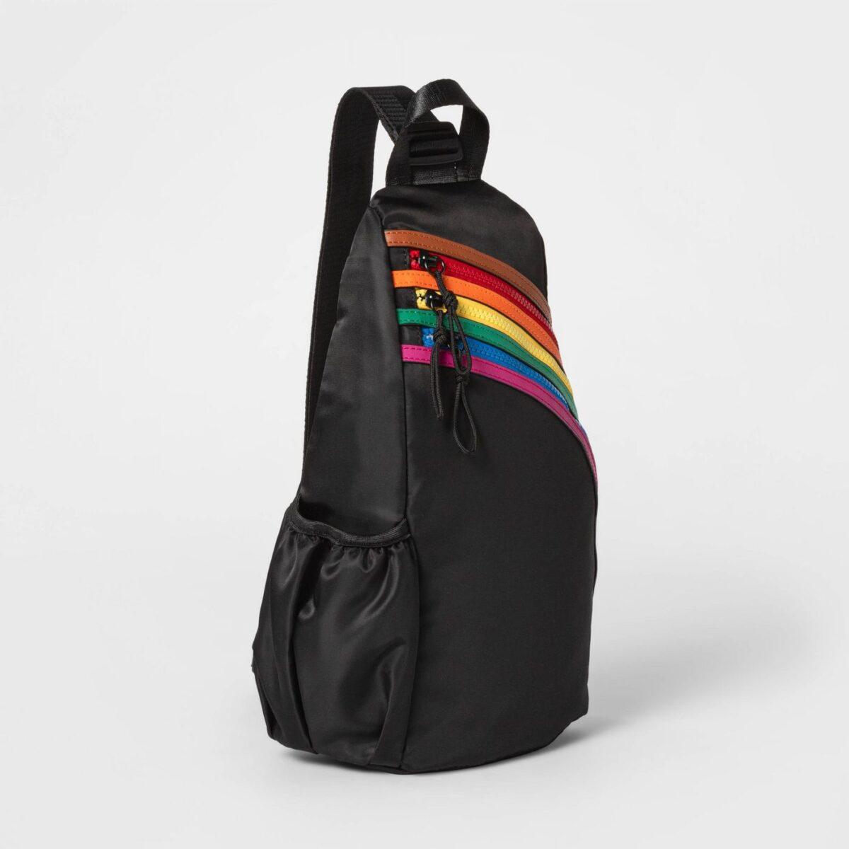 Pride Gender Inclusive Adult Sling Pack - Black Pride Gifts