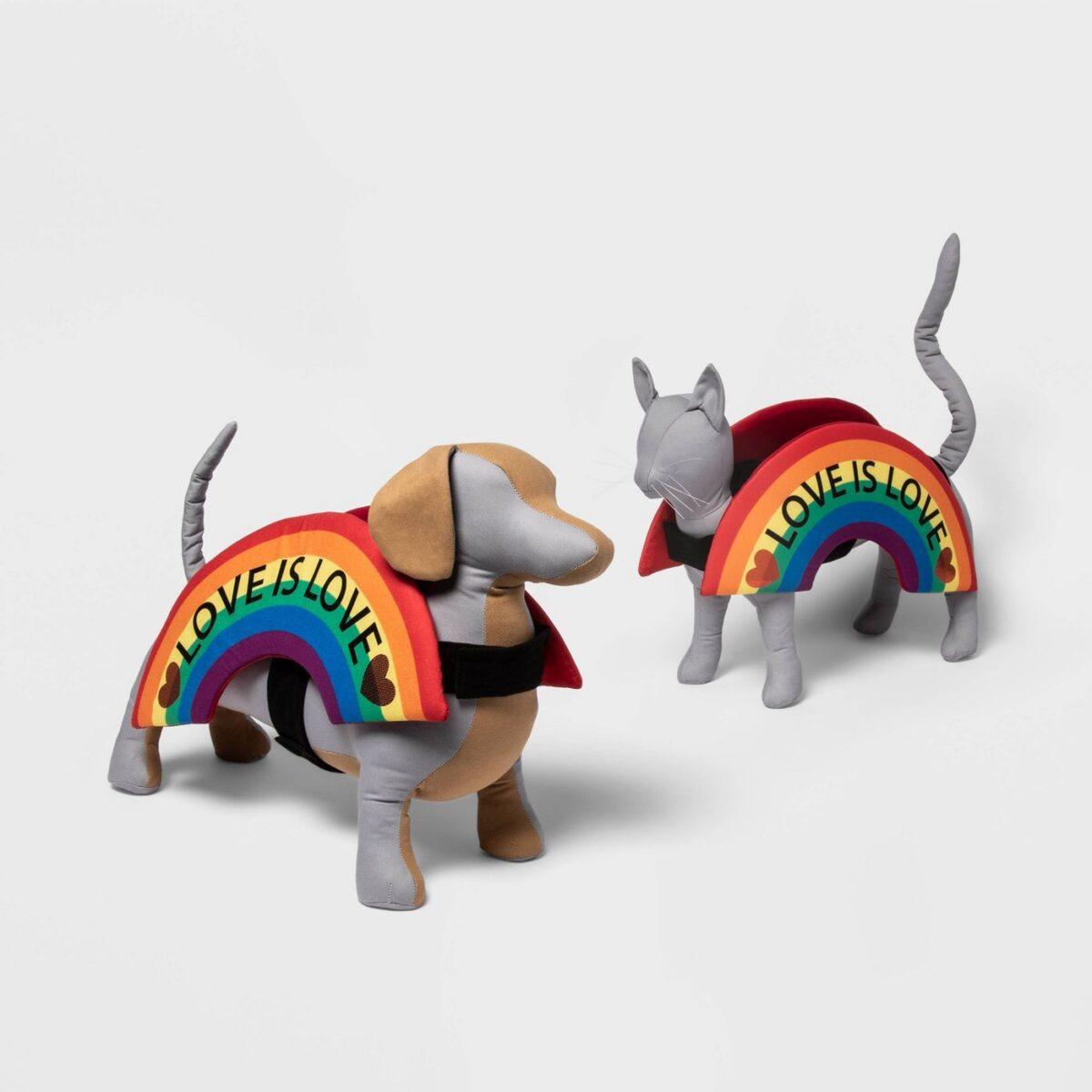 Rainbow Pet Costume - Pride