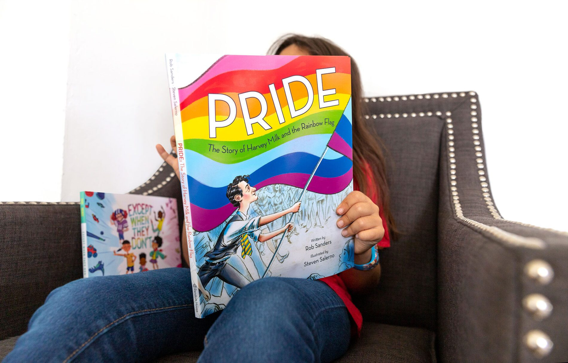 kids pride books child reading pride by rob sanders