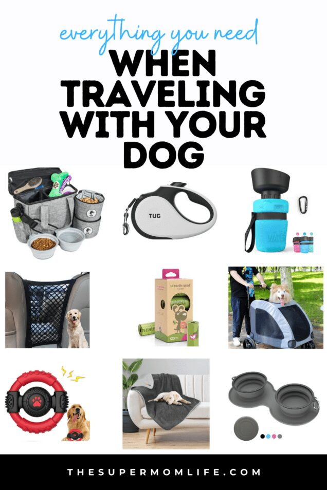 If you are traveling with your pet, we have made a list of everything you need to keep them happy and safe! These are pet travel must-haves.
