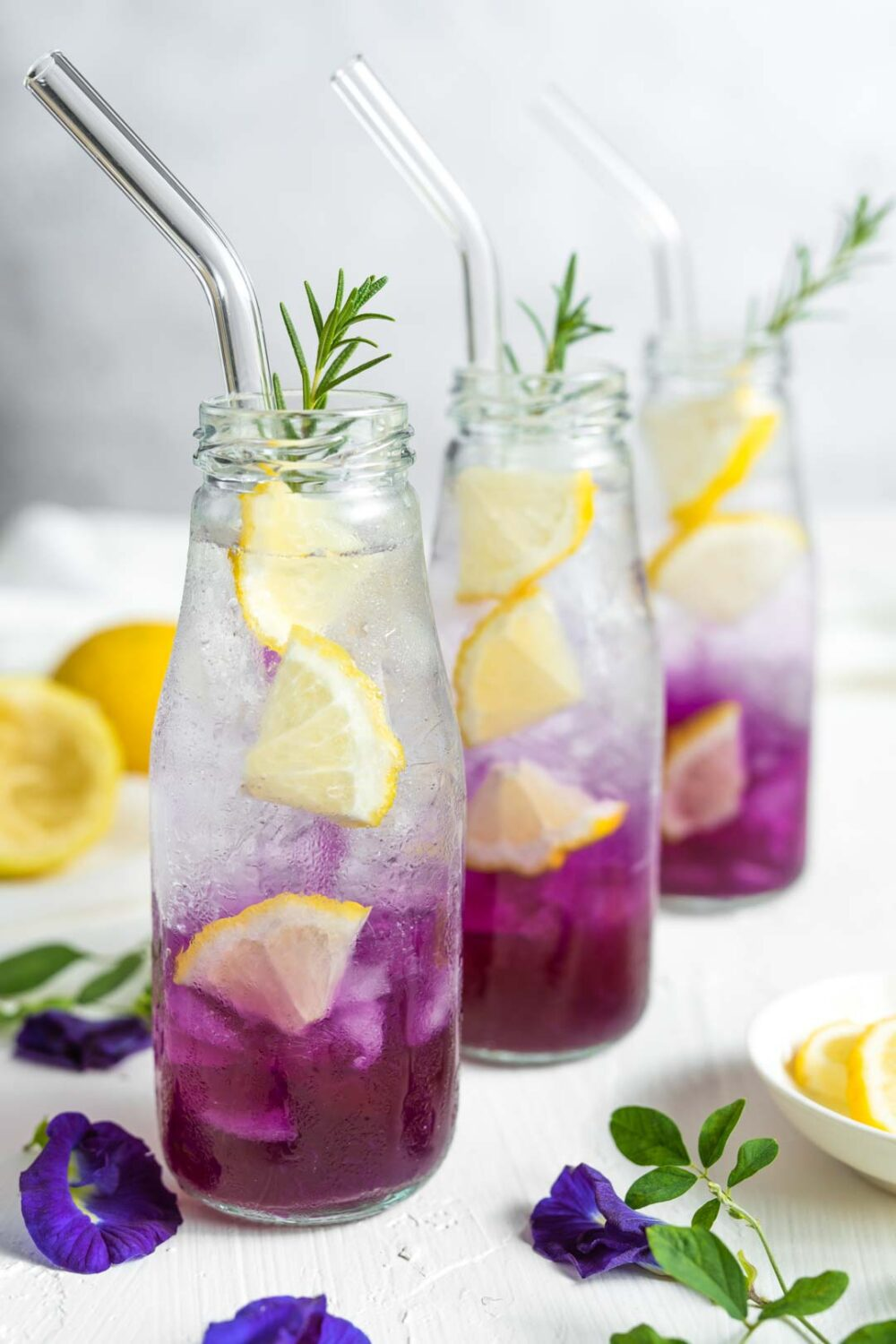 butterfly pea tea lemonade by cooking with tart
