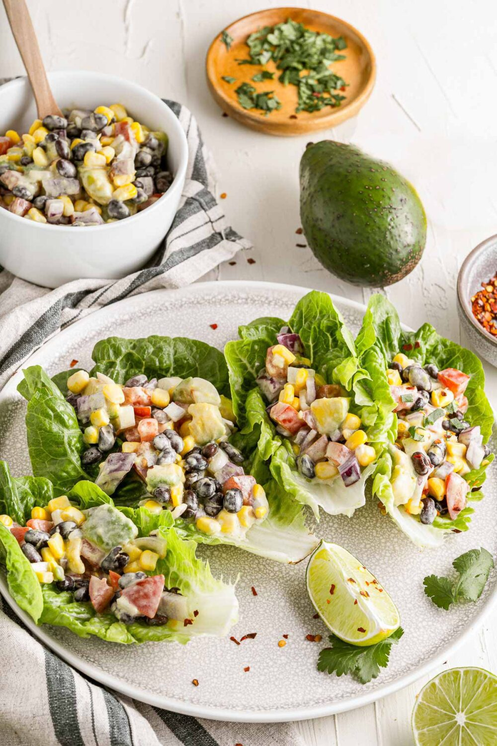 mexican lettuce wraps by boulder locavore