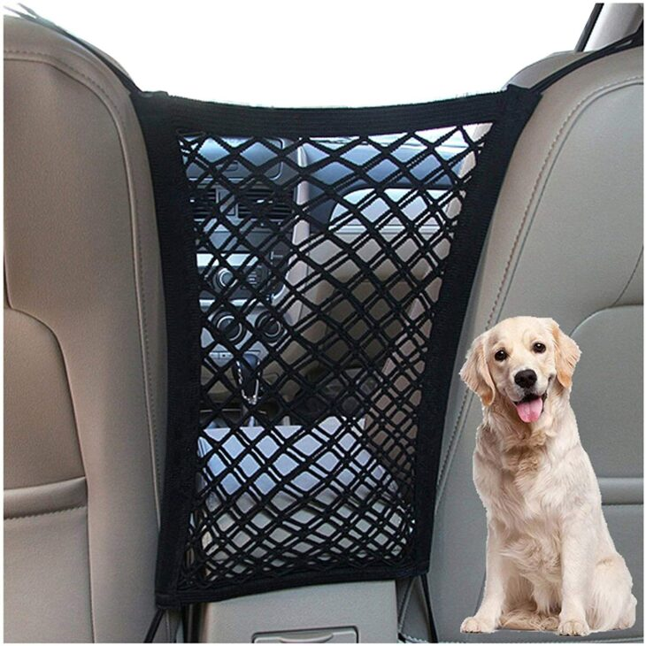 Pet Mesh Barrier for the Car