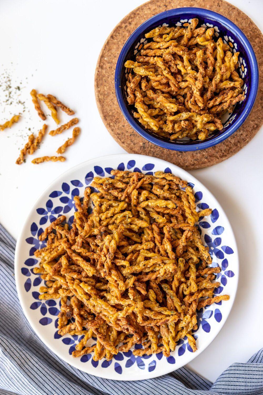 TikTok trend air fryer pasta chips
