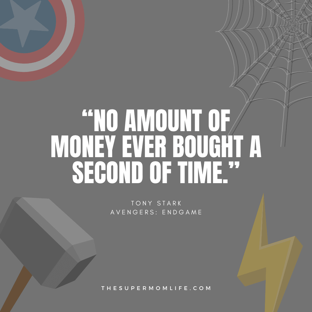 """""""No amount of money ever bought a second of time."""""""