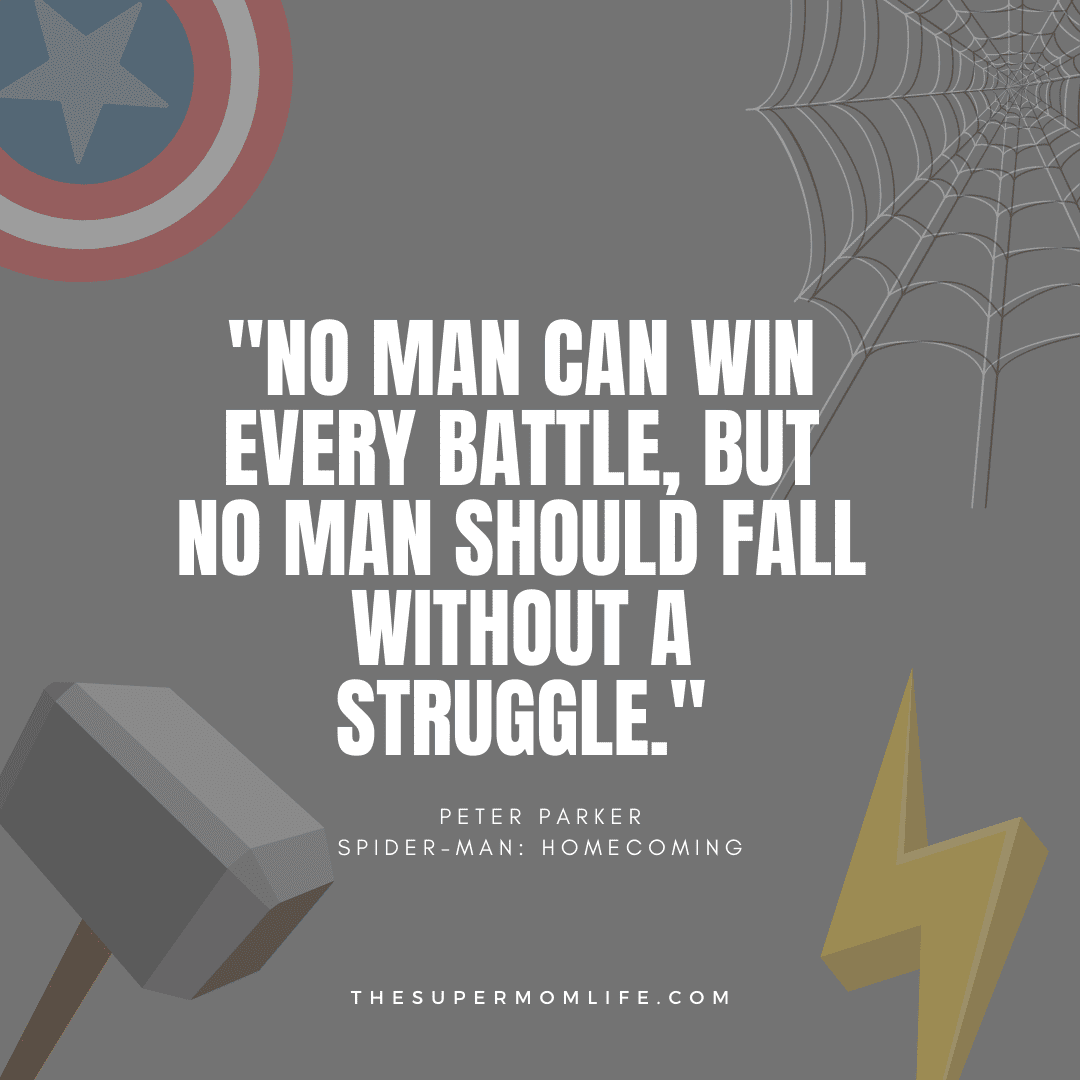 """""""no man can win every battle, but no man should fall without a struggle."""""""