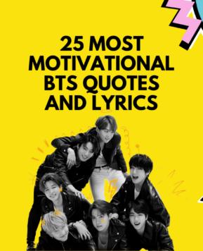 Most Motivational BTS Quotes and Lyrics