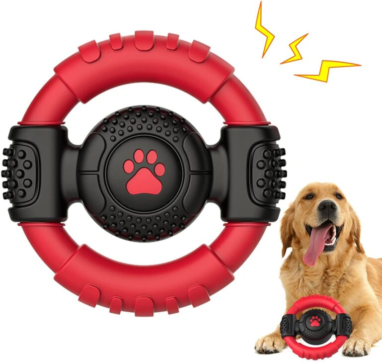 Squeaky Dog Chew Toy for Dog Travel