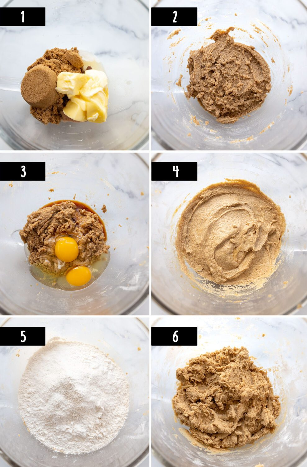 steps to make double chocolate chunk cookies