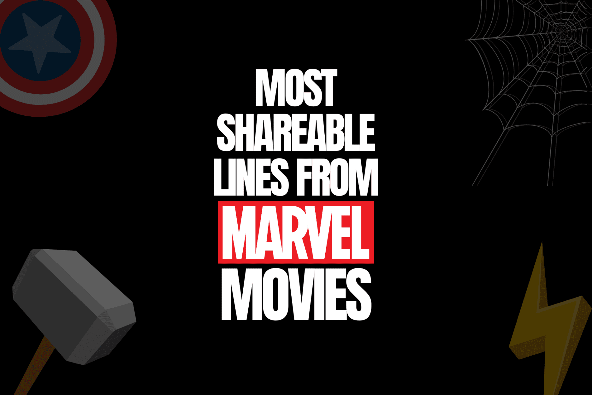 most shareable lines from marvel movies