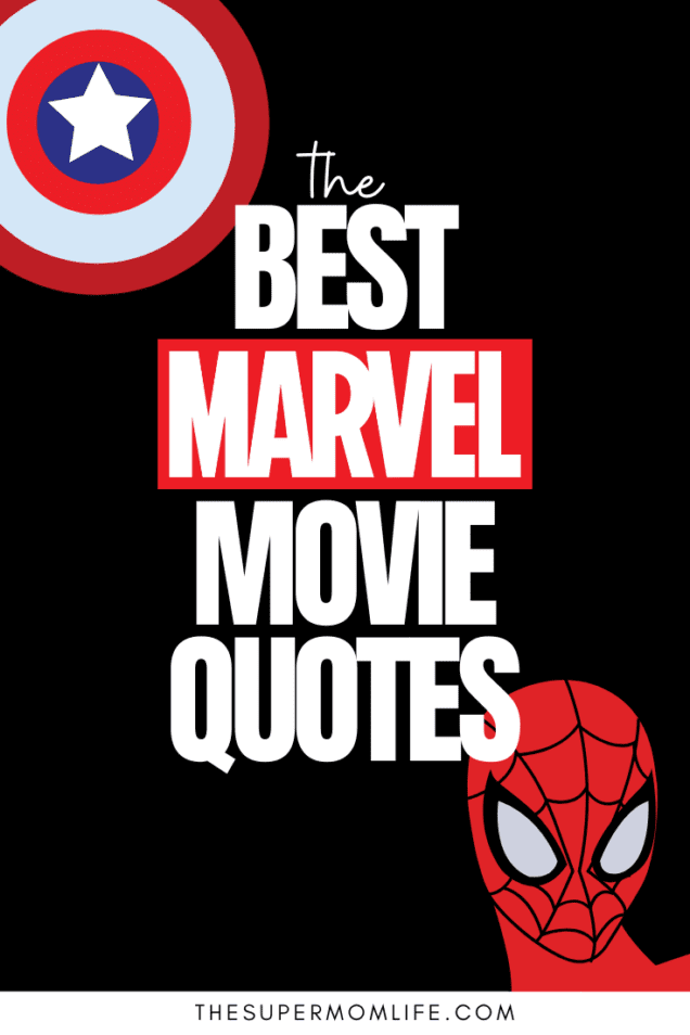 We are a Marvel loving family! Here are the top most shareable lines from the Marvel movies we love the most. Which is your favorite?