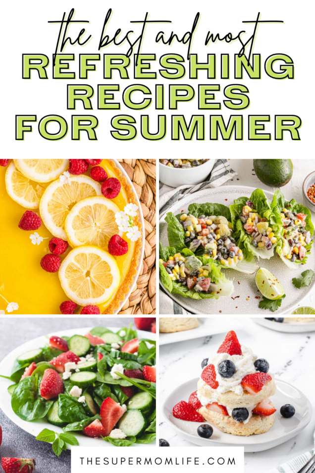 Looking for some refreshing Summer recipes? Here are some of our favorite food, drink and dessert recipes you have to try!