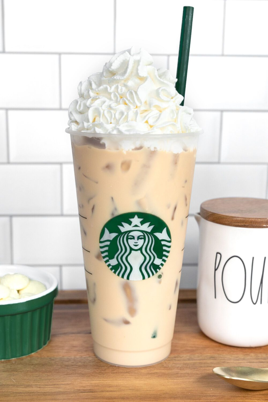 Starbucks iced white chocolate mocha copycat recipe