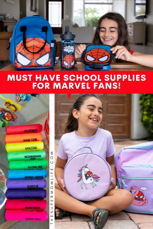 The Yoobi x Marvel collection is fun, functional and adorable. If your kids love superheroes, they are a must-have for back to school!