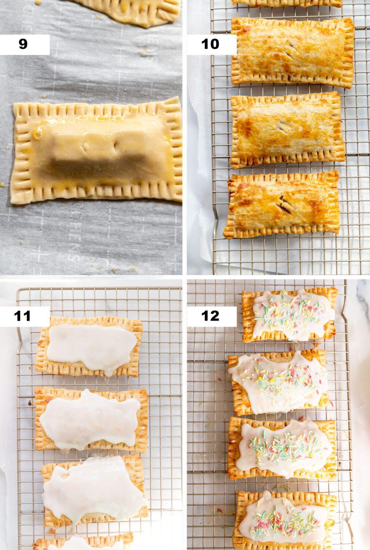 steps to make homemade strawberry pop tarts