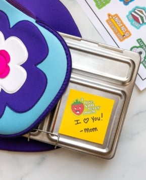 Lunchbox Stickers Free Printable for Cricut
