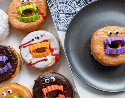 Vampire Donuts Easy Halloween Treat