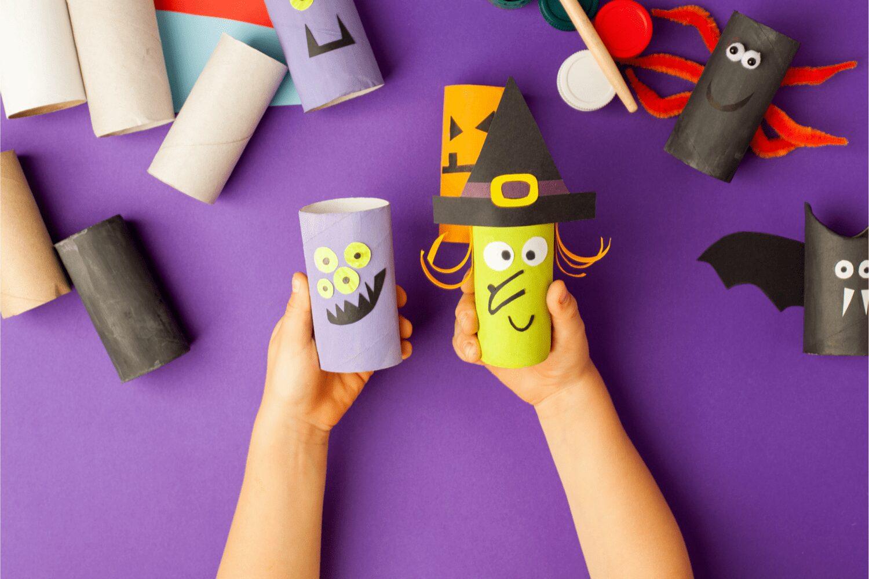 halloween craft ideas with toilet paper rolls
