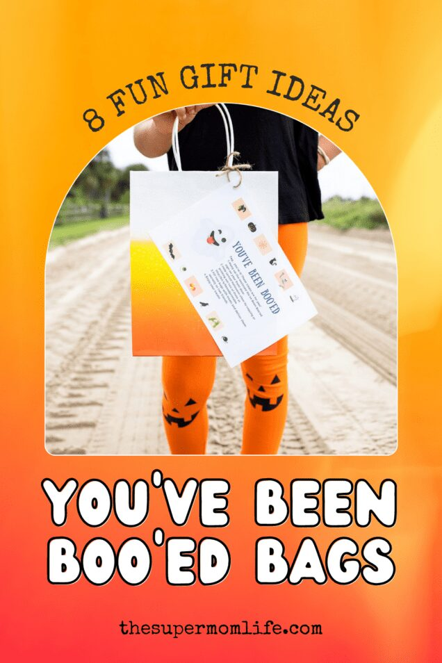 Want to surprise your friends and family on Halloween? Download our free printable you've been booed and attach it to a bag of treats!